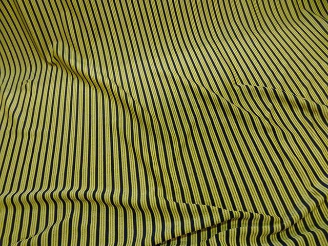 Lycra jaune rayures et lignes 1
