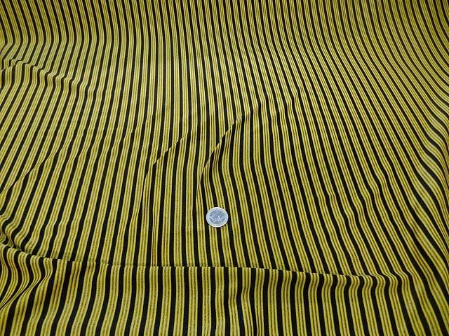 Lycra jaune rayures et lignes 2