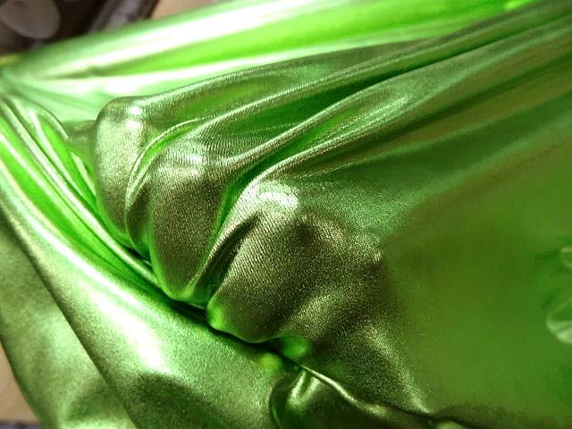 Lycra lame vert lime 3