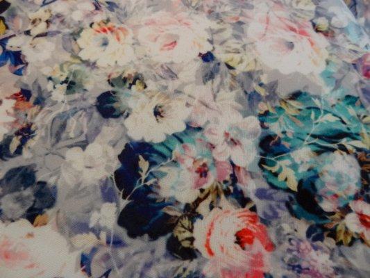 Lycra mousse rosiers bleus 02