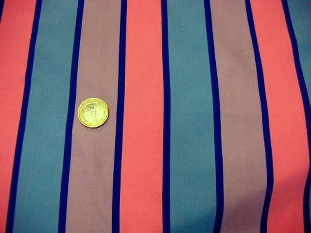 Lycra rayures et bandes tricolore 2