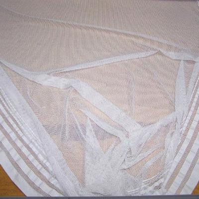 Lycra resille avec embases blanche 3
