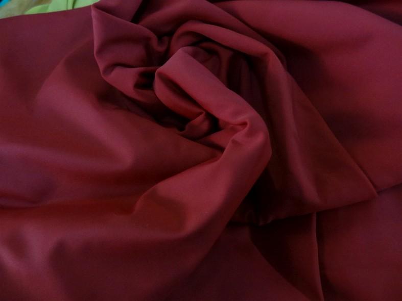 Lycra rouge carmin 1