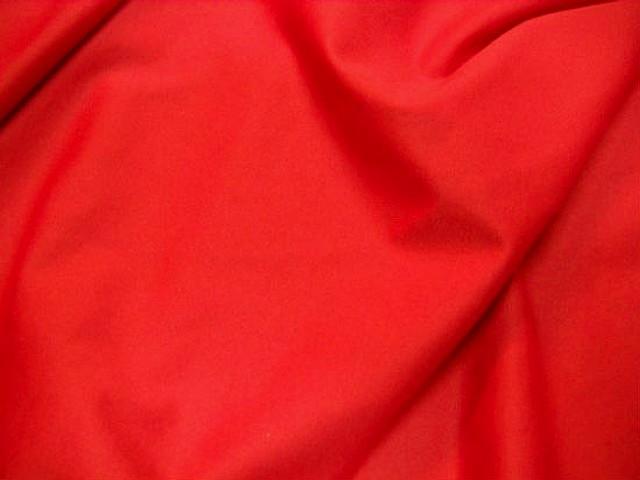 Lycra rouge vermillon