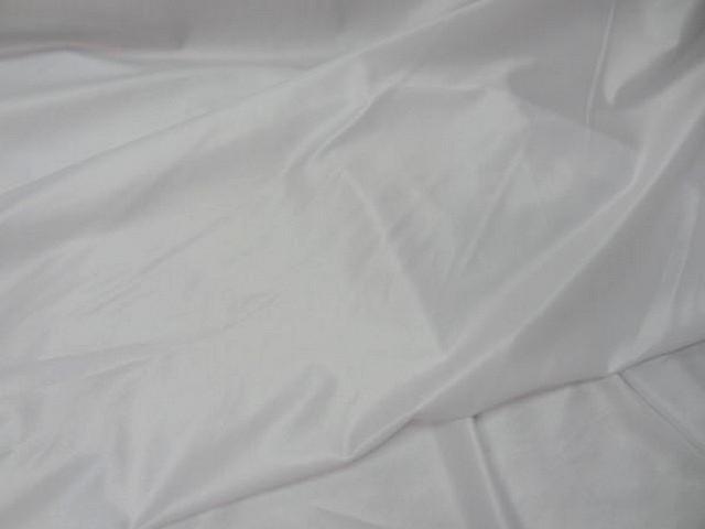 Lycra satine fin blanc 2