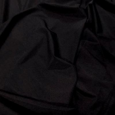 Lycra satine fin marron cachou 1