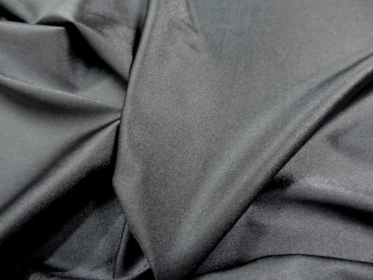 Lycra satiné gris moyen 9