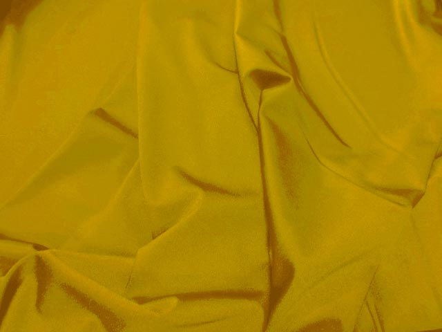 Lycra satine jaune citron