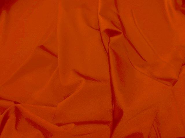 Lycra satine orange