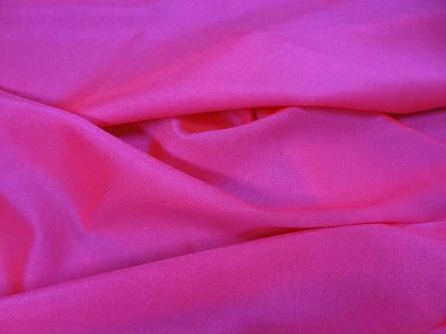 Lycra satine rose fluo 3