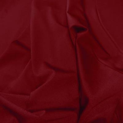 Lycra satine rouge