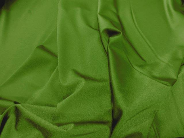 Lycra satine vert prairie