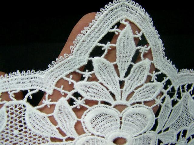 Macrame blanc fleur d onagre et pointe cantoniere 3