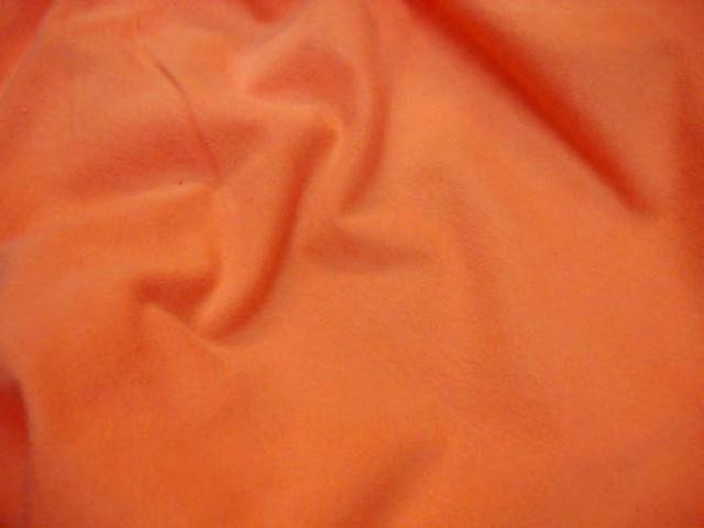 Maille coton jersey lycra orange 2