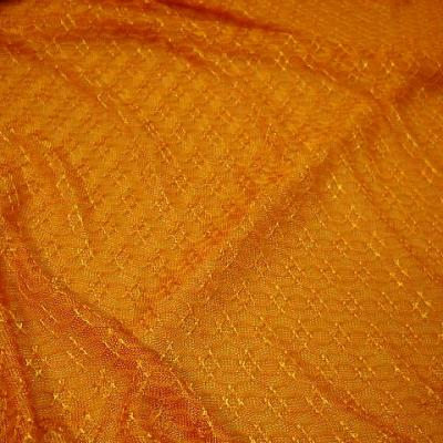 Maille motif maillon teinte jus d orange 3