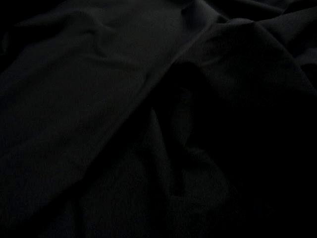 Maille mousse lycra noire 2