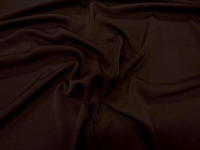 Microfibre marron fonce