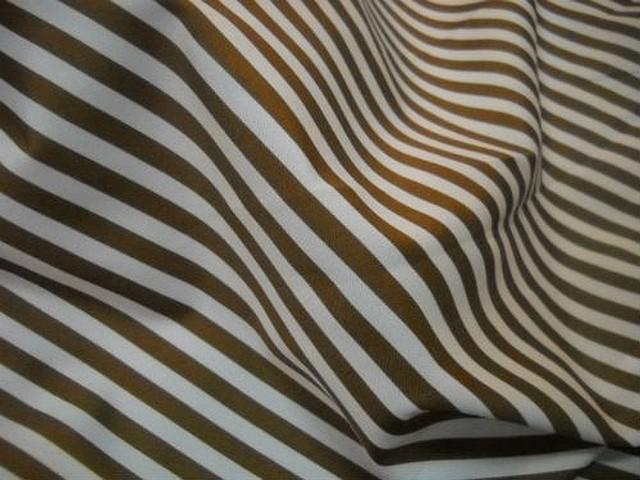 Microfibre raye beige et mordore 2