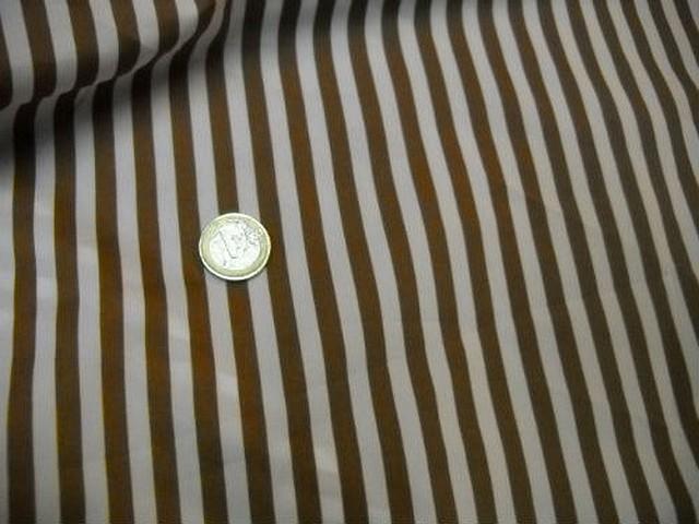 Microfibre raye beige et mordore 3