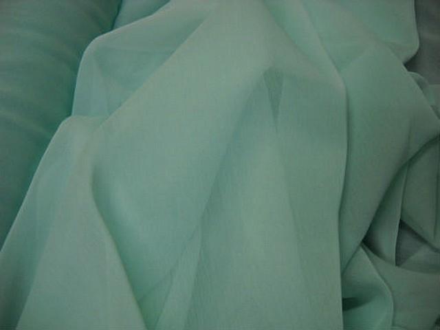 Mousseline bleu givre 4