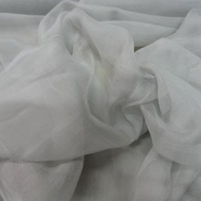 Mousseline de soie chiffon teinte fumee 2