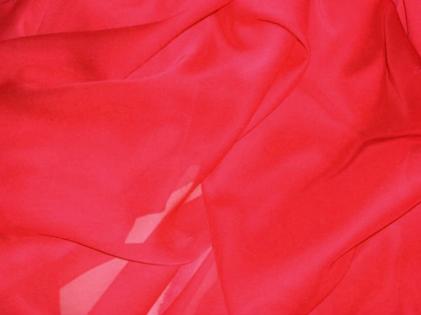 Mousseline rouge profond 2