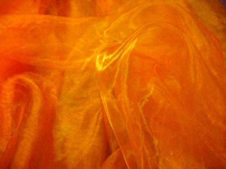 Organza crisal orange 2
