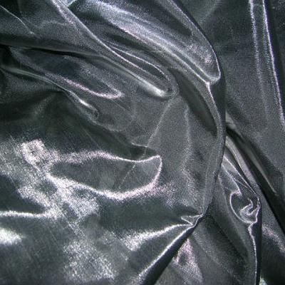 Organza gris metal
