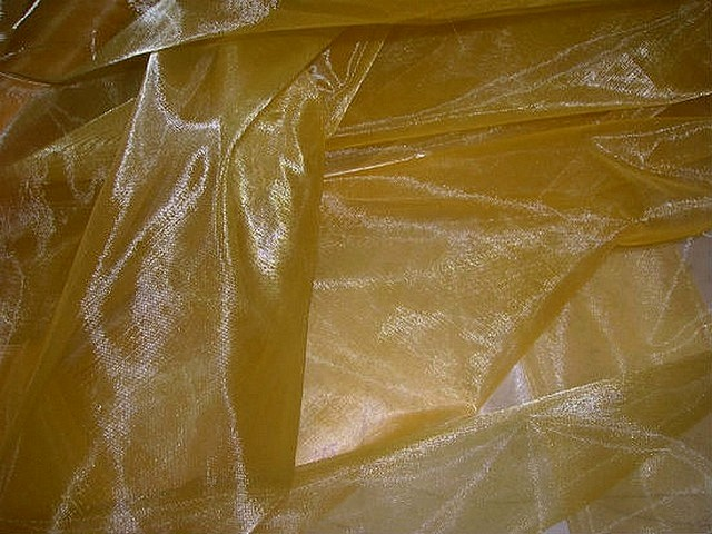 Organza jaune jus d orange 2