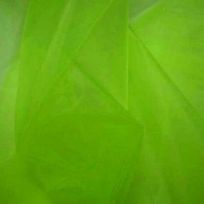 Organza vert lime 2