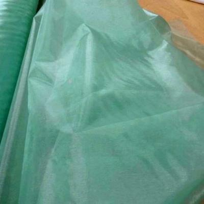 Organza vert menthe glaciale 1