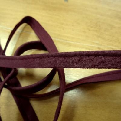 Passepoil tout textiles rouge bourgogne 3 mm 2