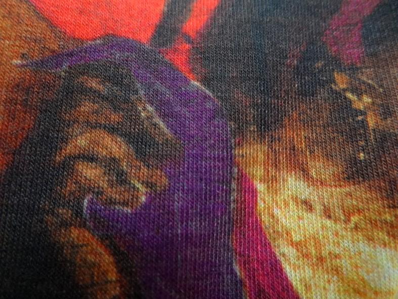 Piece a coudre jersey coton imprime tableau bohemienne 5