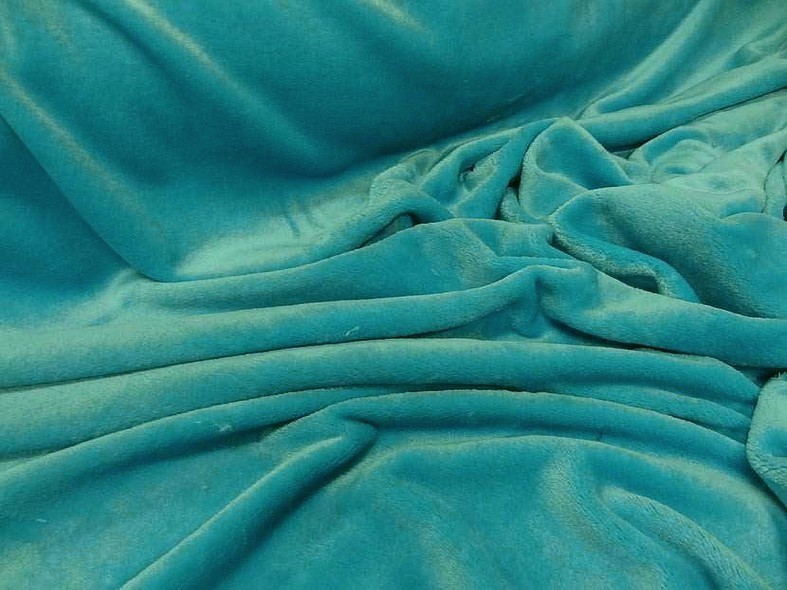 Polaire doudou bleu des mers du sud 1