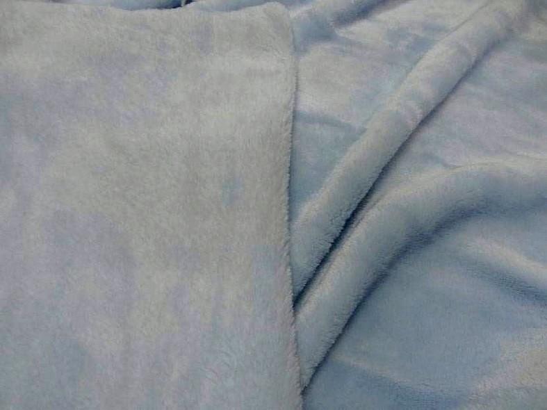Polaire doudou bleu dragee 2