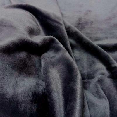 Polaire doudou gris fonce 2