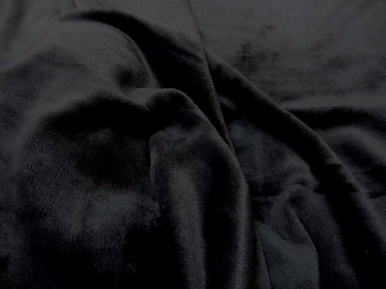 Polaire doudou noire 1