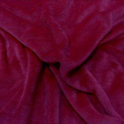 Polaire doudou rose framboise 1