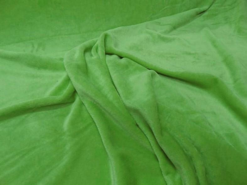 Polaire doudou vert perroquet 2