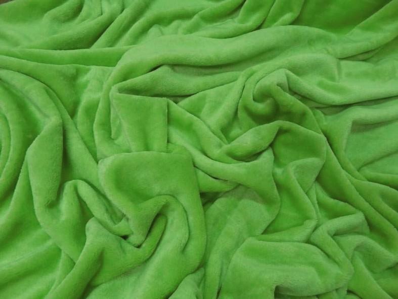 Polaire doudou vert perroquet 3
