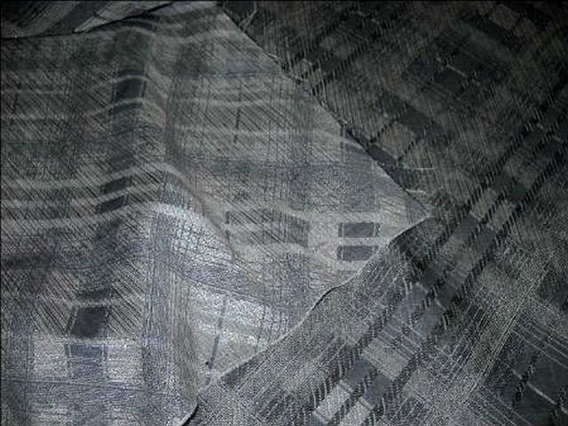 Polyamide coton tons gris a carreaux 1