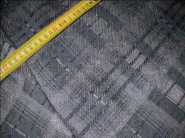 Polyamide coton tons gris a carreaux 2