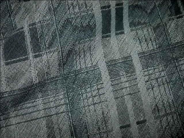 Polyamide coton tons gris a carreaux 3