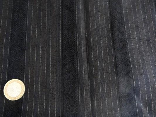 Polyester chemise noir et lurex 02