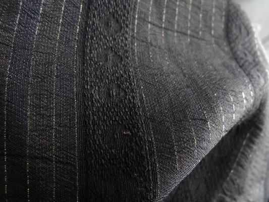 Polyester chemise noir et lurex 03