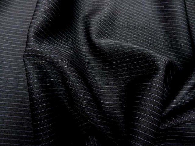 Polyester noir rayures tennis 1