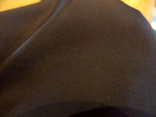 Polyester satiné café 04