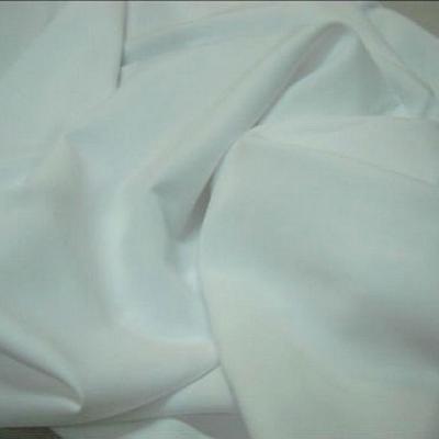 Polyester stretch blanc pur 1