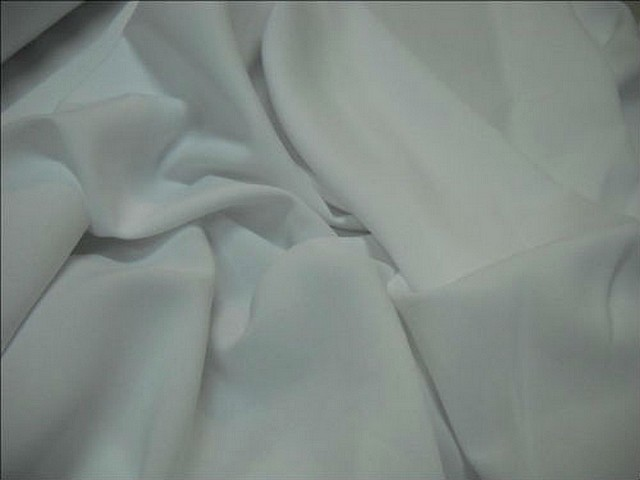 Polyester stretch blanc pur 2