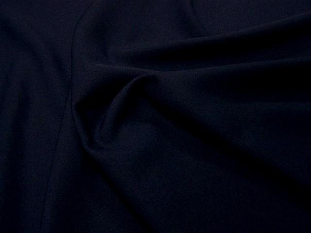 Polyester stretch bleu de minuit 2